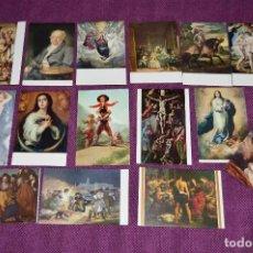 Postales: LOTE DE 15 ANTIGUAS POSTALES DEL MUSEO DEL PRADO - SIN CIRCULAR - MUY BONITAS - HAZME OFERTA. Lote 90424719