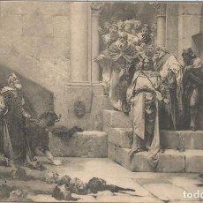 Postales: POSTAL CUADRO DE JOSÉ CASADO DEL ALISAL (1832 - 1886) LA CAMPANA DE HUESCA - FOT. LACOSTE Nº 27 - SC. Lote 91818620