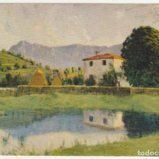 Postales: PAISAJE DE OLOT.- MUSEO DE ARTE MODERNO - BARCELONA.. Lote 92357015