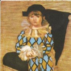 Postales: PABLO RUIZ PICASSO (1881 - 1973), EL HIJO DEL ARTISTA - EDICIONES LZM - S/C. Lote 93673140