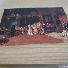 Postales: POSTAL ANTIGUA DEL MUSEO DE ARTE MODERNO DE BARCELONA. LA VICARÍA DE MARIANO FORTUNY. Lote 94132074