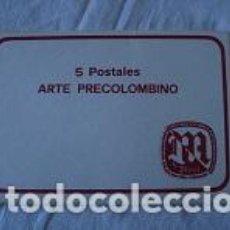 Postales: 5 POSTALES ARTE PRECOLOMBINO. Lote 94294126