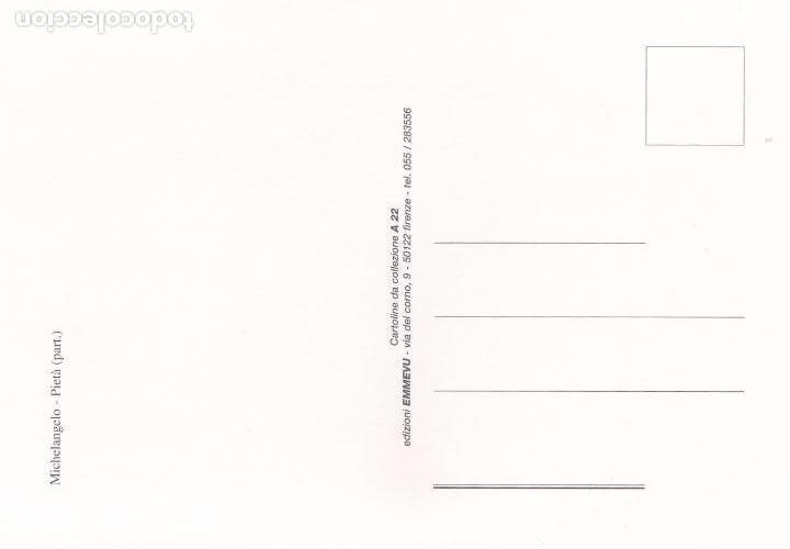 Postales: POSTAL PIEDAD. MIGUEL ANGEL - Foto 2 - 94868871
