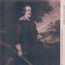 Postales: POSTAL VELASQUEZ - PORTRAIT DE PHILIPPE IV - ROI D'ESPAGNE - 521 LL - MUSEE DU LOUVRE PARIS. Lote 95304371
