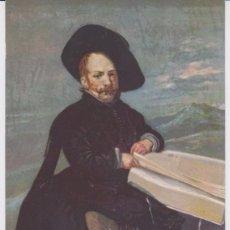 Postales: ANTIGUA POSTAL VELAZQUEZ RETRATO DE DIEGO DE ACEDO. MUSEO DEL PRADO. HAUSER Y MENET. Lote 95473111