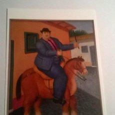 Postales: FERNANDO BOTERO POTCARD NEW-11. Lote 95688751