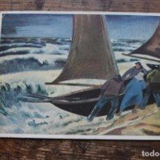 Postales: POSTAL DIRIGIDA A UN SOLDADO ALEMAN EN LA SEGUNDA GUERRA MUNDIAL, CIRCULADA, 1942. Lote 96482247