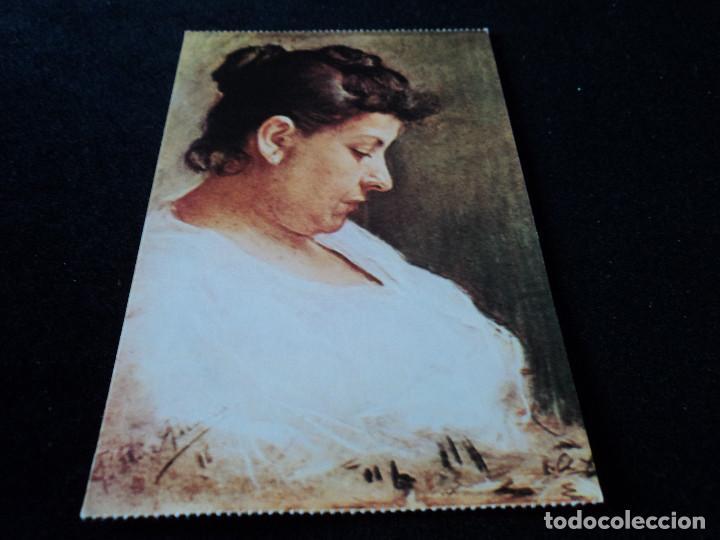PABLO RUIZ PICASSO RETRATO DE DOÑA MARIA PICASSO LOPEZ (Postales - Postales Temáticas - Arte)
