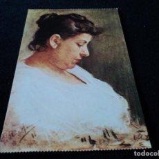 Postales: PABLO RUIZ PICASSO RETRATO DE DOÑA MARIA PICASSO LOPEZ. Lote 97434271