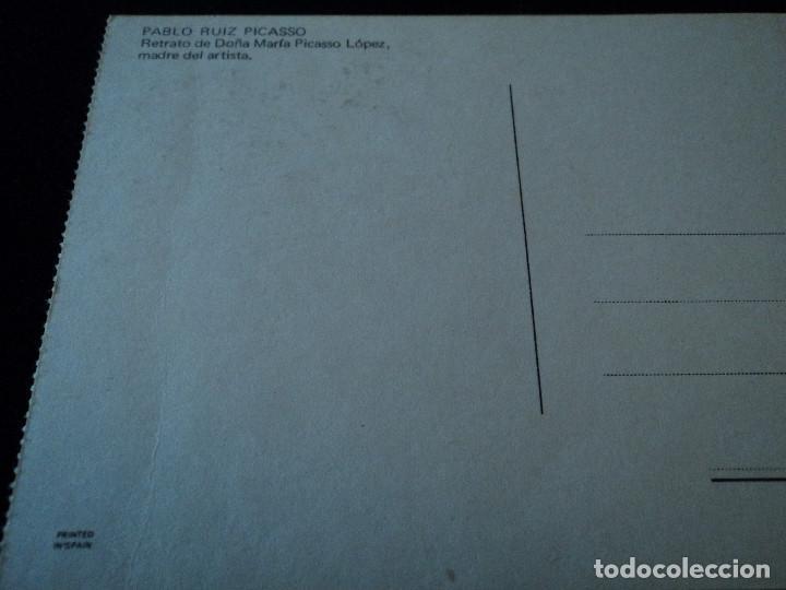 Postales: pablo ruiz picasso retrato de doña maria picasso lopez - Foto 2 - 97434271