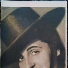 Postales: AUTÓGRAFO AÑO 1937 ACTRIZ MARÍA GUERRERO . Lote 98090755