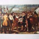 Postales: POSTAL DE VELAZQUEZ. LA RENDICION DE BREDA. 1599-1660. SAVIR. TDKP12. Lote 98121719