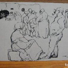 Postales: ISIDRE NONELL - I FERIA NACIONAL DEL DIBUJO - BARCELONA 1976. Lote 102945515
