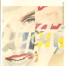 Postales: POSTAL CUADRO DE JAMES ROSENQUIST, MARILYN MONROE, 1962 - THE MUSEUM OF MODERN ART - S/C. Lote 103392739