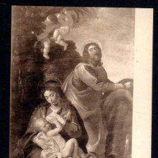 Postales: ANTIGUA POSTAL MUSEO DEL PRADO: - BARTOLOME GONZALEZ - DESCANSO EN LA HUIDA A EGIPTO LL.357. Lote 103698823