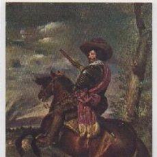 Postales: POSTAL DE ARTE. EL CONDE DUQUE DE OLIVARES. VELAZQUEZ. MUSEO DEL PRADO P-ARTE-623. Lote 103741387