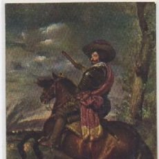 Postales: POSTAL DE ARTE. EL CONDE DUQUE DE OLIVARES. VELAZQUEZ. MUSEO DEL PRADO P-ARTE-624. Lote 103741467