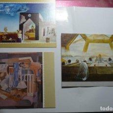 Postales: LOTE POSTALES CUADROS DE DALI--EDIC.MUSEO DALI. Lote 103963427