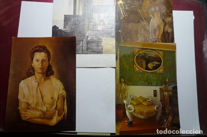 MUSEO DALI -LOTE POSTALES CUADROS (Postales - Postales Temáticas - Arte)