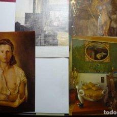 Postales: MUSEO DALI -LOTE POSTALES CUADROS. Lote 103963607