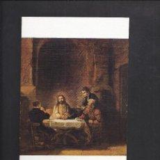 Postales: MUSÉE DU LOUVRE. REMBRANDT. Lote 104630827