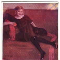 Postales: ANTIGUA POSTAL PARIS SALON 1909. Lote 104680555