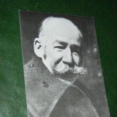 Postales: RETRATO DE MARIANO BENLLIURE. Lote 157704993