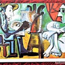 Postales: EL PINTOR Y SU MODELO DE PICASSO. P-65 MUSEO ESPAÑOL DE ARTE CONTEMPÓRANEO. MADRID. E. DOMINGUEZ. NU. Lote 105137107