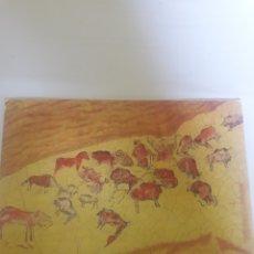 Postales: POSTAL CIRCULADA CUEVAS DE ALTAMIRA AÑO 1974. Lote 105727810