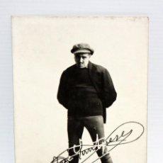 Postales: ANTIGUA FOTO POSTAL DEL ACTOR JOSEP SANTPERE (BARCELONA 1875-1939). ESCENA DE EL CIM DEL PEGOT. JOSE. Lote 107202567
