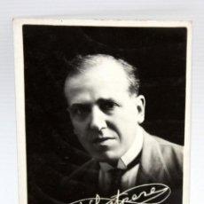Postales: ANTIGUA FOTO POSTAL DEL ACTOR JOSEP SANTPERE (BARCELONA 1875-1939) RETRATO DEL ARTISTA. SIN CIRCULA.. Lote 107202995