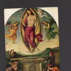 Postales: POSTAL -ARTE/PINTURA - ITALIA - PERUGINO - RESURRECCIÓN DE CRISTO - T.50 - EDICIÓN ITALIANA. Lote 107574335