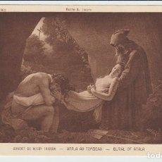 Postales: POSTAL ANTIGUA MUSEE DU LOUVRE GIRODET - 40. Lote 107735491
