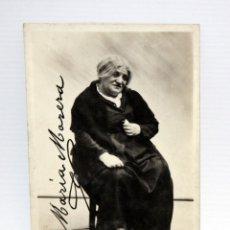 Postales: ANTIGUA FOTO POSTAL DE LA ACTRIZ MARIA MORERA I FRANCO (BARCELONA 1872-1954). ESCENA EN LA MARE. Lote 108776383