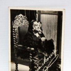 Postales: ANTIGUA FOTO POSTAL DE LA ACTRIZ MARIA MORERA I FRANCO (BARCELONA 1872-1954). LO FERRER DE TALL . Lote 108778047