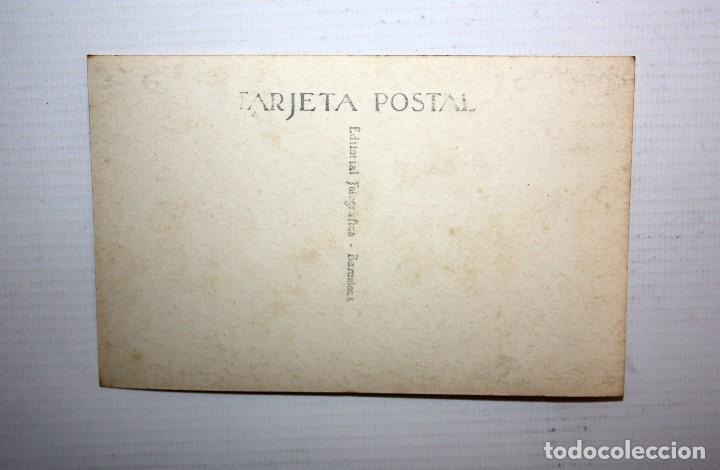 Postales: ANTIGUA FOTO POSTAL DE LA ACTRIZ MARIA MORERA I FRANCO (Barcelona 1872-1954). LO FERRER DE TALL - Foto 2 - 108778047