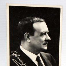 Postales: ANTIGUA FOTO POSTAL DEL ACTOR ENRIQUE BORRAS ORIOL (BADALONA 1863-BARCELONA 1957). SIN CIRCULAR. Lote 108779407