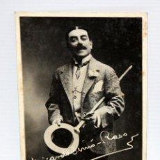 Postales: ANTIGUA FOTO POSTAL DEL ACTOR RICARDO SIMO-RASO (EXTREMADURA 1874-SAN SEBASTIÁN 1938). SIN CIRCULAR . Lote 108779611