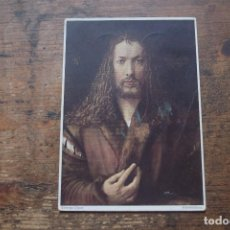 Postales: IMAGEN DE CRISTO, DURERO, MUNICH, CIRCULADA. Lote 108865507