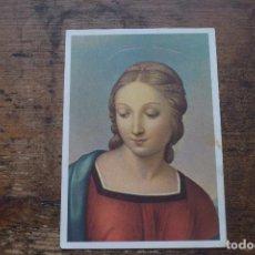Postales: MADONNA DEL PAJARITO, RAFAEL, FLORENCIA, SIN CIRCULAR. Lote 108865695