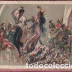 Postales: POSTAL DEL PINTOR DE SANT FRUCTUOSO DE BAGES - P. CLAPERA - BAILE ESPAÑOL SERIE A Nº 2. Lote 109300815