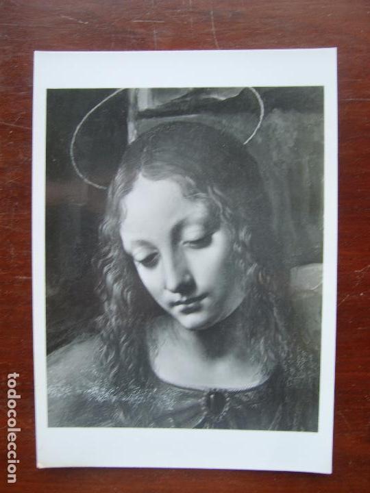 La Virgen De Las Rocas Detalle Leonardo Da Vinci National Gallery