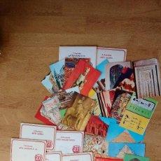 Postales: LOTE POSTALES ARTE ROMÁNICO ASIRIO EGIPCIO...... Lote 110800791