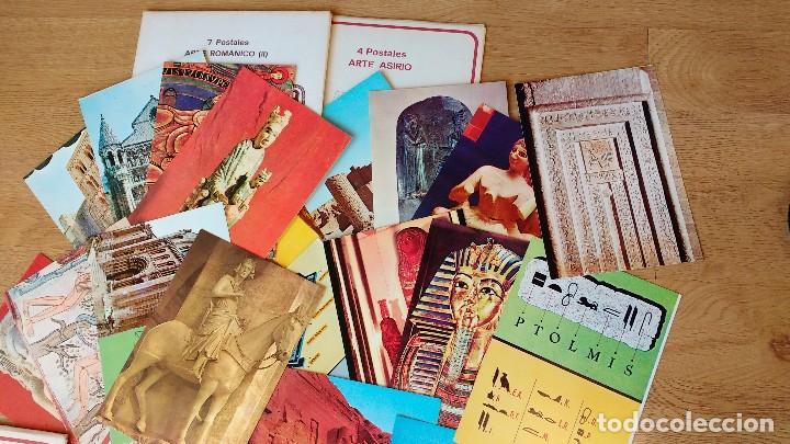 Postales: LOTE POSTALES ARTE ROMÁNICO ASIRIO EGIPCIO..... - Foto 2 - 110800791