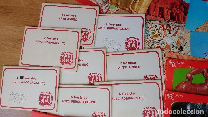 Postales: LOTE POSTALES ARTE ROMÁNICO ASIRIO EGIPCIO..... - Foto 3 - 110800791