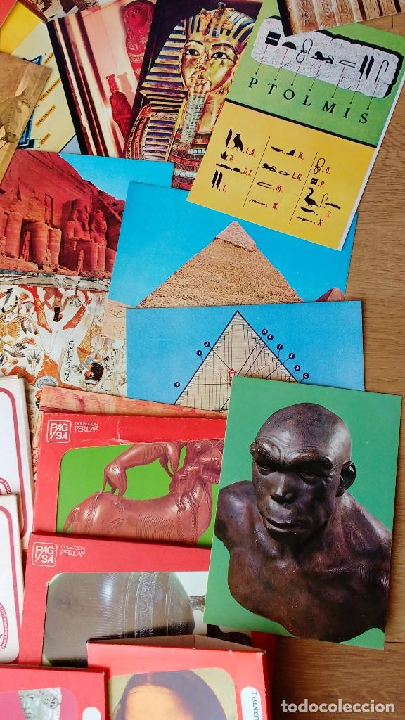 Postales: LOTE POSTALES ARTE ROMÁNICO ASIRIO EGIPCIO..... - Foto 5 - 110800791