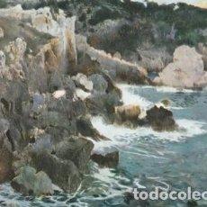 Postales: POSTAL ARTISTICA - J MIR - PINTURA - COSTA BRAVA - MUSEO ARTE MODERNO BARCELONA 1970 EUROCROMO 1512 . Lote 111423567