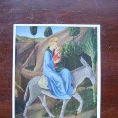 Postales: BEATO ANGELICO HUIDA A EGIPTO FLORENCIA MUSEO SAN MARCOS POSTAL. Lote 111665211