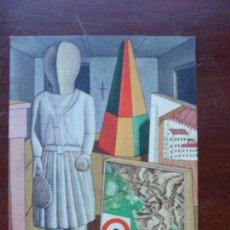 Postales: CARRA MUSA METAFISICA MILAN COLECCION PRIVADA POSTAL. Lote 111671283