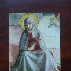 Postales: BEATO ANGELICO LA SANTA VIRGEN MARIA FLORENCIA MUSEO SAN MARCOS POSTAL. Lote 111671495
